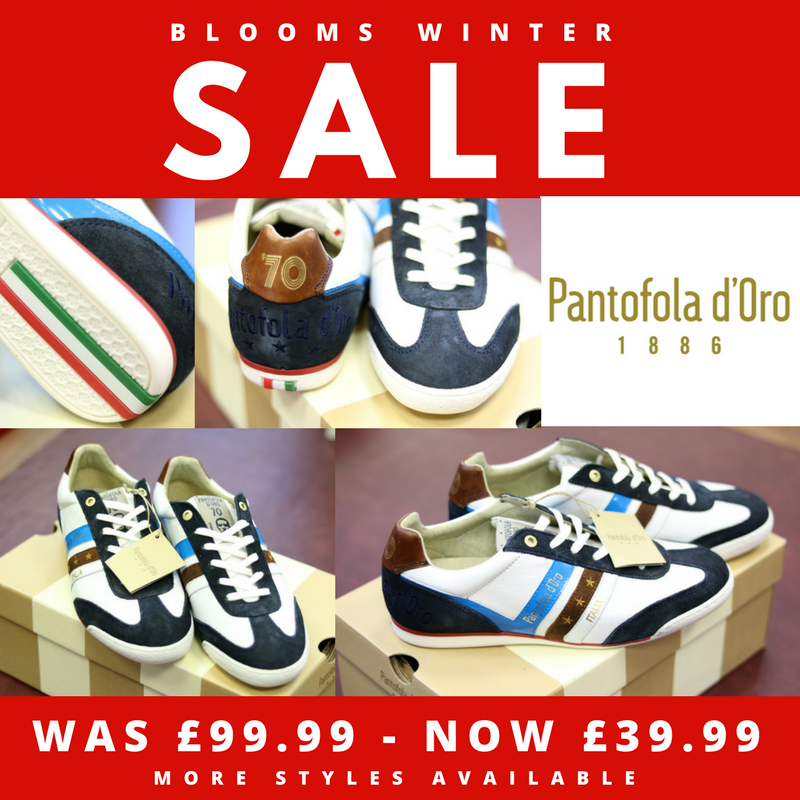 Blooms Menswear Wolverhampton - The Blooms Winter Sale 2017 Pantofola d'Oro trainers
